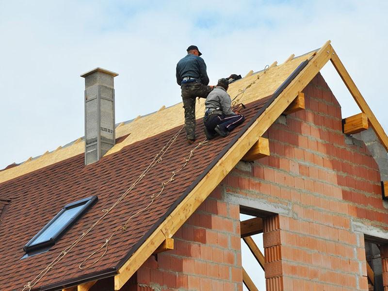 roof repair signs