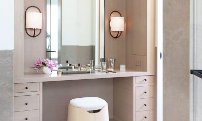 Mirrored Makeup Vanity